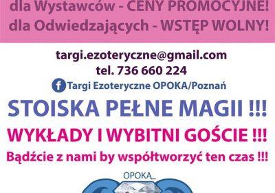 Targi ezoteryczne Poznań 1-3.12.2017r.