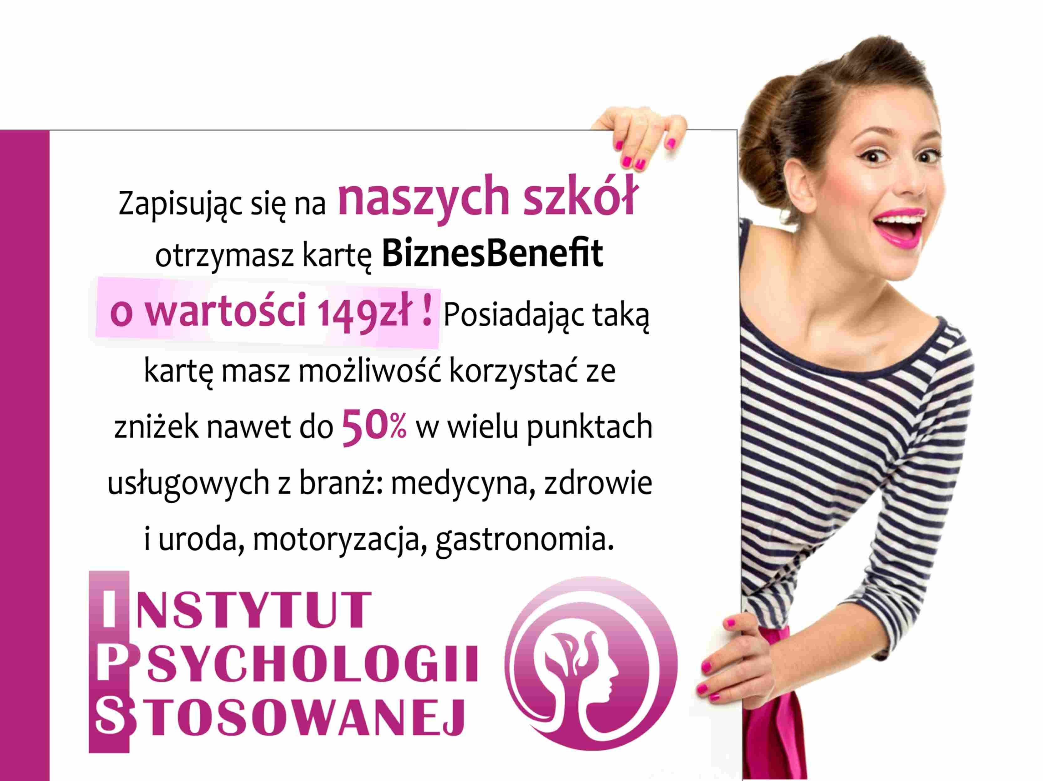 benefit kobieta psychologia